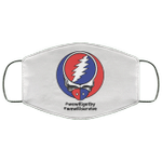 Grateful Dead We Will Get By We Will Survive Face Mask VA04