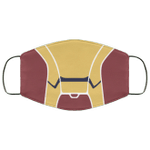 Iron Man Face Mask Cosplay Style HA06