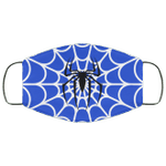 Spider Man Blue Uniform Face Mask HA06