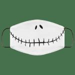 Jack Skellington Smile Face Mask HA06