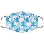 Stitch Face Mask Ohana Stitch Silhouette Pattern Style HA06