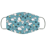 Snoopy And Woodstock Pattern Face Mask HA06