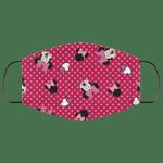 Minnie Face Mask Lovely Polka Dot Style HA06