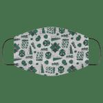 Slytherin Face Mask Harry Potter House Pattern Style HA06