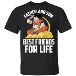 Gohan And Goku T-Shirt Father And Son Dragon Ball Tee MT04