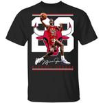 Legend Number 23 Michael Jordan Signature T-Shirt For Bulls Fan MT05