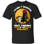 Father And Daughter Best Friends T-Shirt Darth Vader And Princess Leia MT05