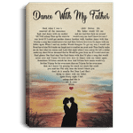 Dance With My Father Canvas Poster Father's Day Gift VA05