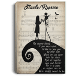 Nightmare Before Christmas Finale Reprise Canvas Poster VA04