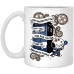 To My Gorgeous Girlfriend Snoopy Doctor Who Mug HA04-Amazingfairy.com