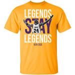 Kobe Bryant T-shirt Legends Stay Legends Tee For Fans