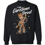 I Am Christmas Groot Sweatshirt Groot Christmas Shirt Xmas Gift Idea TT09