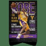 Kobe Bryant The Black Mamba Achievements Poster-Amazingfairy.com