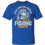 Fishing T-shirt Great Dads Go Fishing With Sons Tee