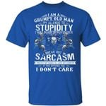 I'm A Grumpy Old Man T-shirt Birthday I Was Born In November Tee