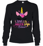 100 Magical Days School For Kids Youth Long Sleeve T-Shirt Tee