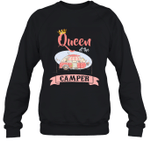 Queen Of The Camper Family Crewneck Sweatshirt Gift Tee