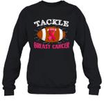 Tackle Breast Cancer Family Crewneck Sweatshirt