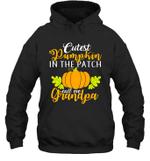 Cutest Pumpkin In The Patch Grandpa Halloween Costume Hoodie Sweatshirt Family Tee