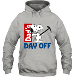 Snoopy Dad's Day Off Hiking Hoodie Sweatshirt Outdoor Activity