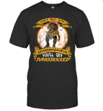 Don't Mess With Grandmasaurus You'll Get Jurasskicked T-shirt Family Tee
