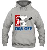 Snoopy Dad's Day Off Boating Hoodie Sweatshirt Outdoor Activity
