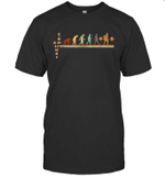 Vintage Evolution Love Lifting Weights T-shirt Family Tee