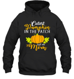 Cutest Pumpkin In The Patch Mom Halloween Costume Hoodie Sweatshirt Family Tee