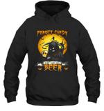 Forget Candy Just Give Me Beer Halloween Hoodie Sweatshirt Family Tee