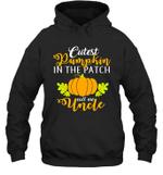 Cutest Pumpkin In The Patch Uncle Halloween Costume Hoodie Sweatshirt Tee