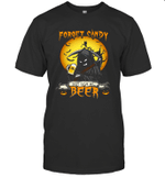 Forget Candy Just Give Me Beer Halloween T-shirt Family Tee
