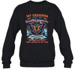 My Grandma Left Me Beautiful Memories Crewneck Sweatshirt Family Tee