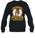 Don't Mess With Mamasaurus You'll Get Jurasskicked Crewneck Sweatshirt Family Tee