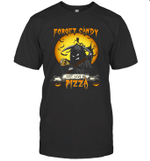 Forget Candy Just Give Me Pizza Halloween T-shirt Family Tee