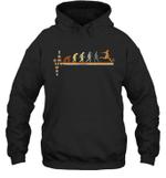Vintage Evolution Love Soccer Hoodie Sweatshirt Family Tee