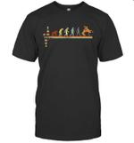 Vintage Evolution Love Wrestling T-shirt Family Tee