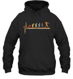 Vintage Evolution Love Softball Hoodie Sweatshirt Family Tee