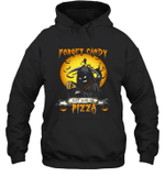 Forget Candy Just Give Me Pizza Halloween Hoodie Sweatshirt Family Tee
