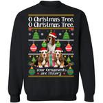 O Christmas Tree Basset Hound Dog Xmas Sweater Funny Gift Idea TT11-99Paws-com