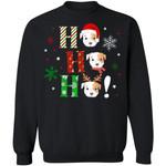 Ho Ho Ho Pit Bull Christmas Dog Sweater Xmas Gift TT11-99Paws-com