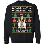 O Christmas Tree American Shepherd Dog Xmas Sweater Funny Gift Idea TT11-99Paws-com