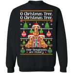 O Christmas Tree Dachshund Dog Xmas Sweater Funny Gift Idea TT11-99Paws-com