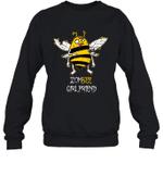 Zombee Family Halloween Zombie Bee Girlfriend Crewneck Sweatshirt Tee