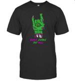 Bonus Zombie Dad Rock Halloween T-shirt Family Tee