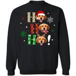 Ho Ho Ho Golden Retriever Christmas Dog Sweater Xmas Gift TT11-99Paws-com