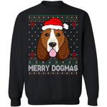 Basset Hound Merry Dogmas Dog Ugly Sweater Funny Xmas Gift Idea VA11-99Paws-com