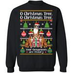 O Christmas Tree Boxer Dog Xmas Sweater Funny Gift Idea TT11-99Paws-com