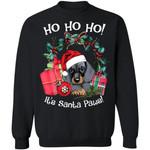 Ho Ho Ho Dachshund Christmas Sweater It's Santa Paws Xmas Gift TT11-99Paws-com