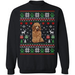 Poodle Dog Ugly Sweater Funny Christmas Gift Idea MN11-99Paws-com