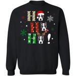 Ho Ho Ho Pit Bull Christmas Dog Sweater Xmas Gift Idea TT11-99Paws-com